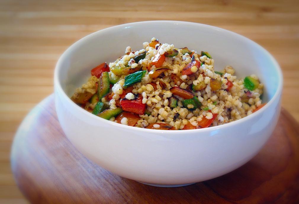 Cereali - Sorgo con verdure arrostite