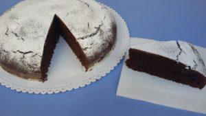 torta frullata al cacao