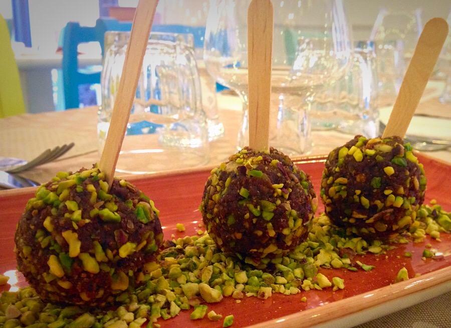 tartufi dolci al cioccolato